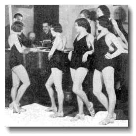 Chorus Girls in BH with Harry Pepper and John Watt